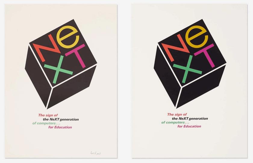 NeXT Logo Designed by Paul Rand for Steve Jobs