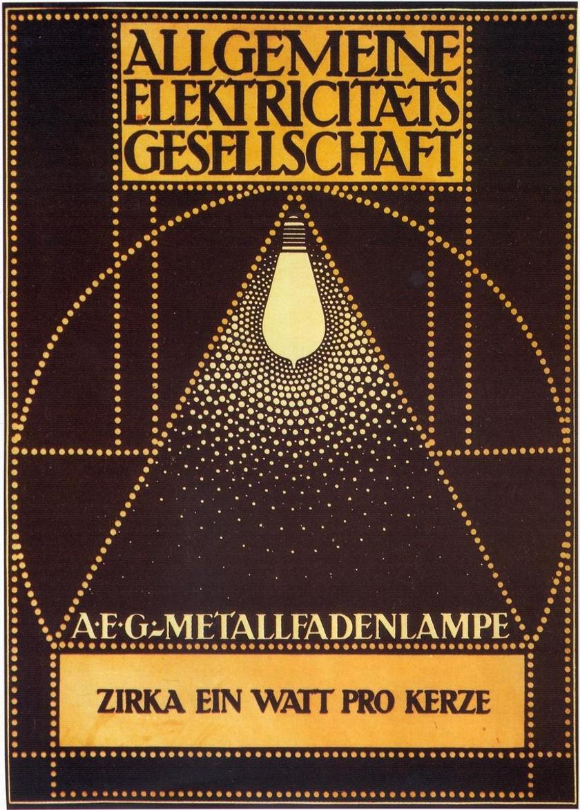 Deutsche Werkbund Peter Behrens 1907 08 Gesamkultur