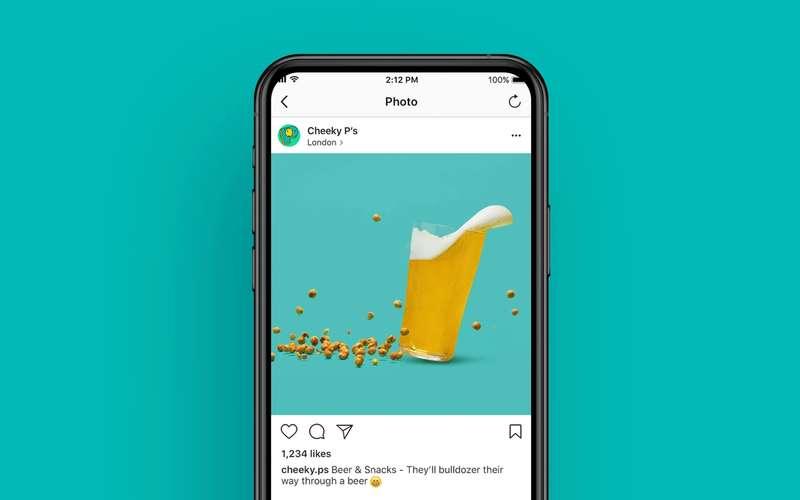 Cheeky P's hoard knocking pint flying on social media post