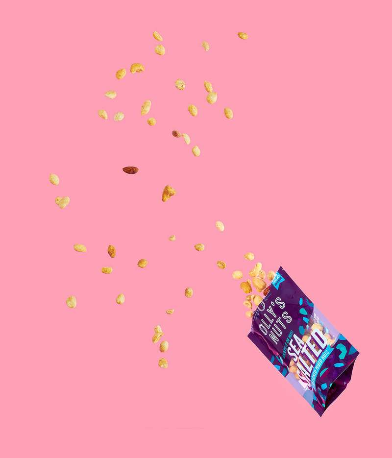 Olly's nuts pack explosion