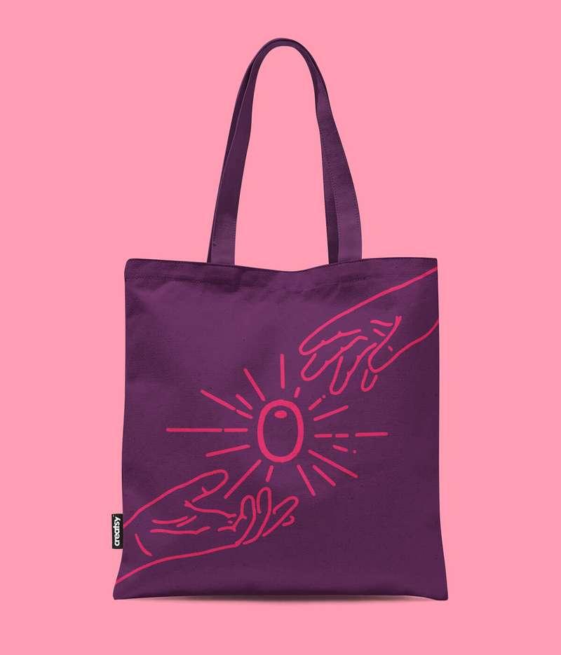 Olly's tote bag