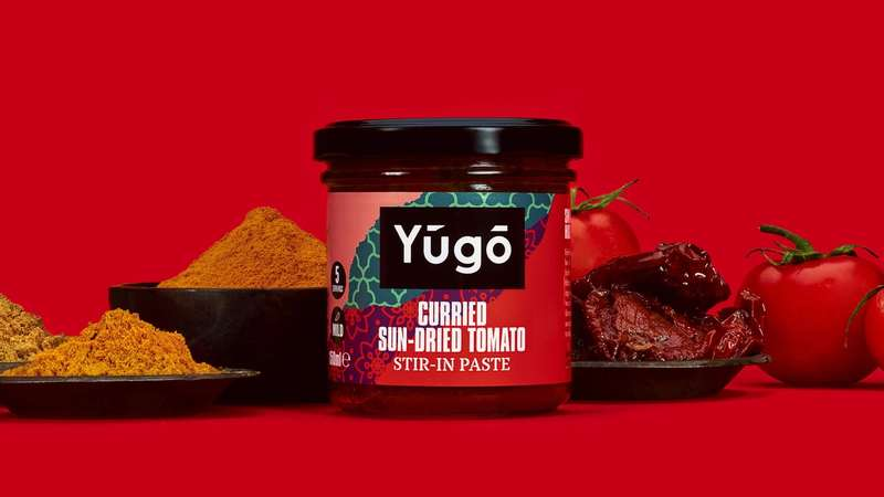 Curried Sun-dried Tomato paste