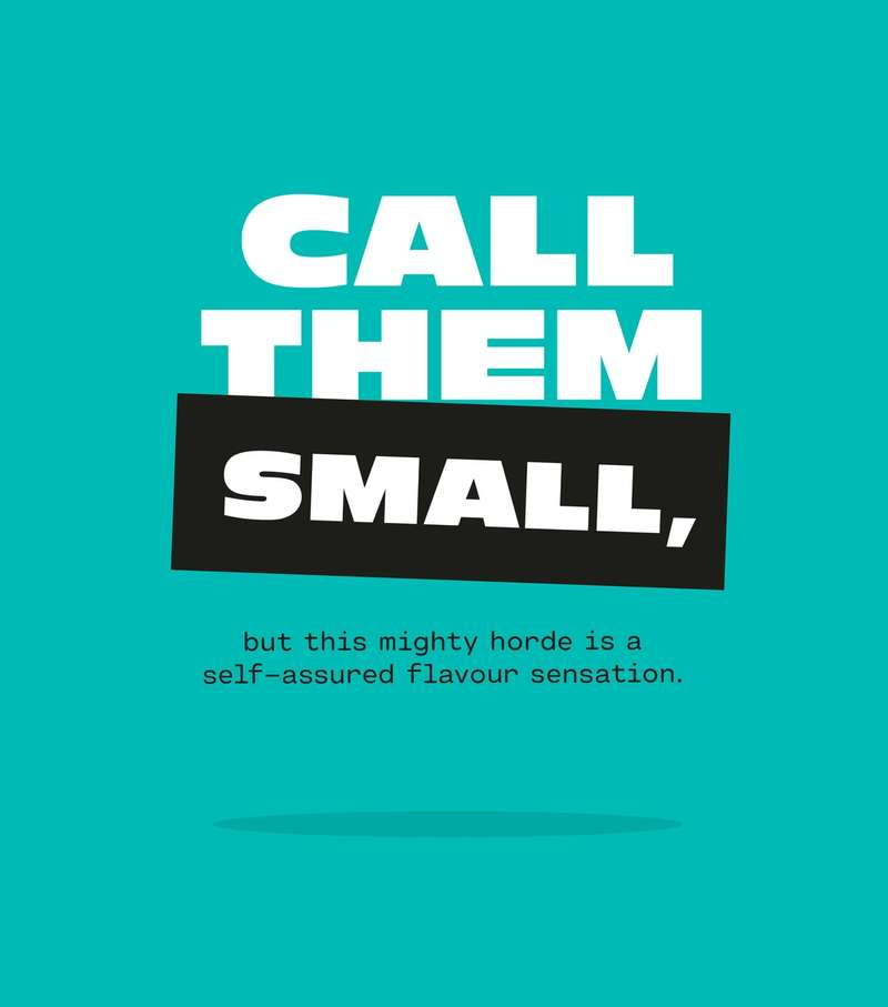 Call them small