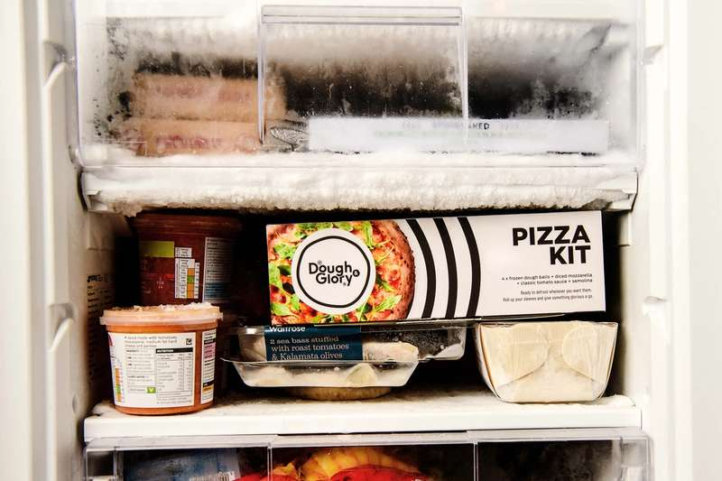 Frozen Dough & Glory Pizza kit
