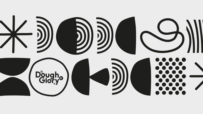 Dough & Glory shape illustrations