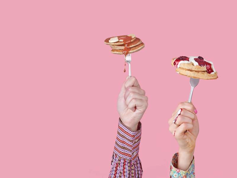 waffle fork