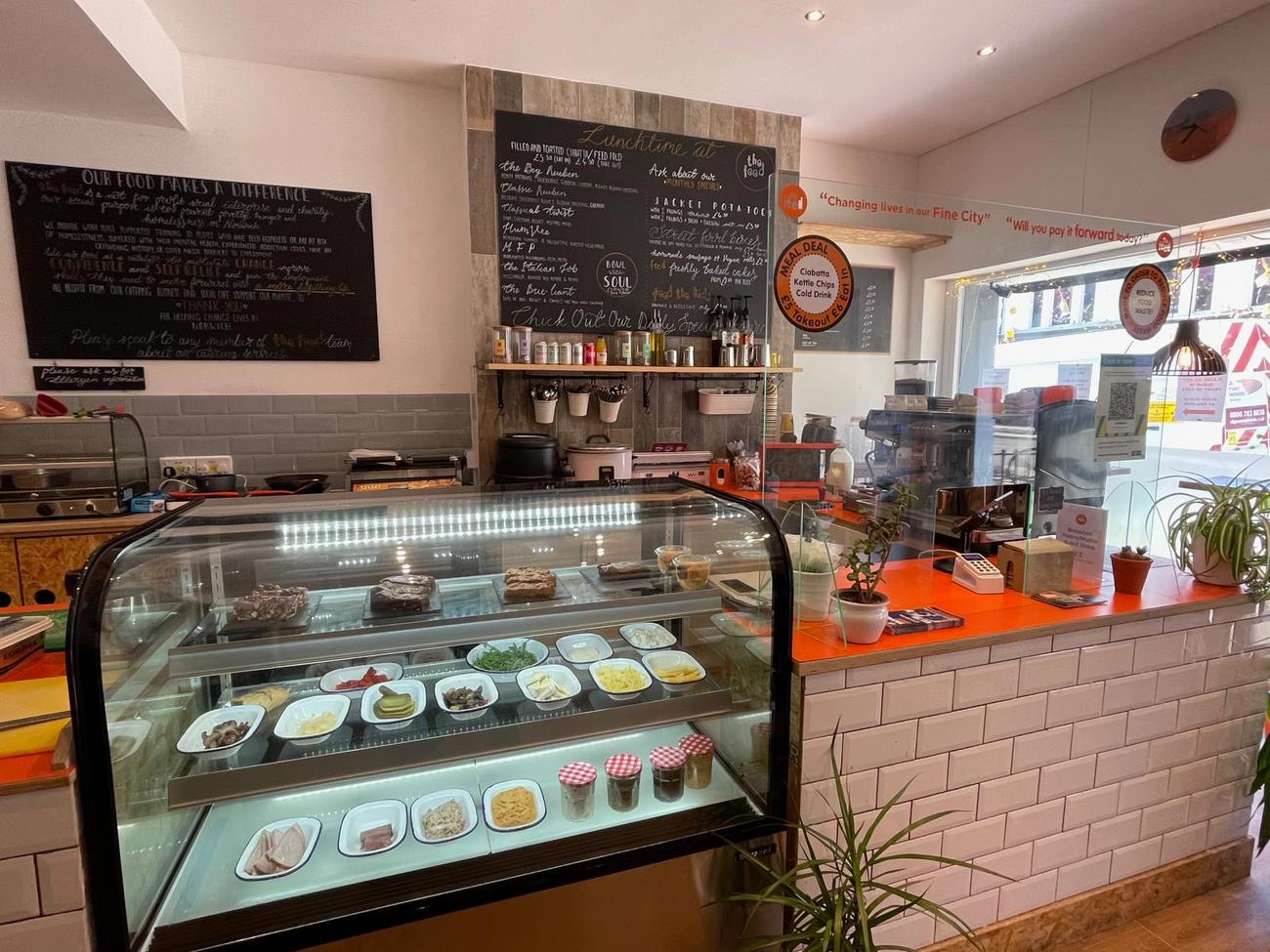 the feed cafe inside