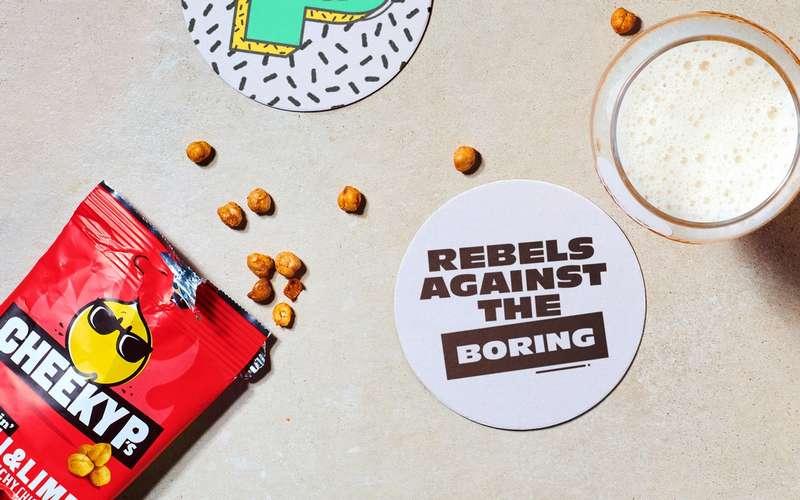 Rebels against the boring slogan