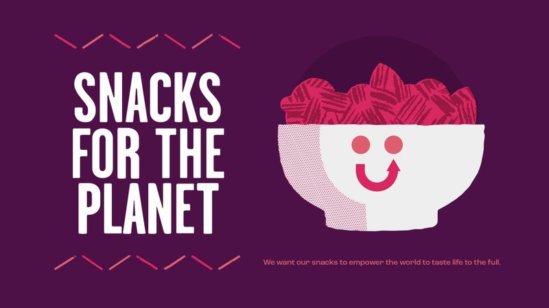 Snacks for the planet