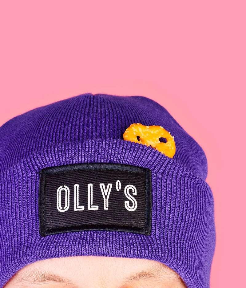 Olly's beanie hat