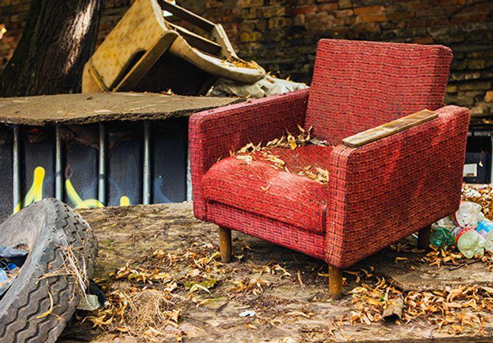 Älä ota huonekaluja roskalavalta
