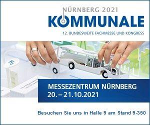 Anticimex Kommunale 2021 Nürnberg
