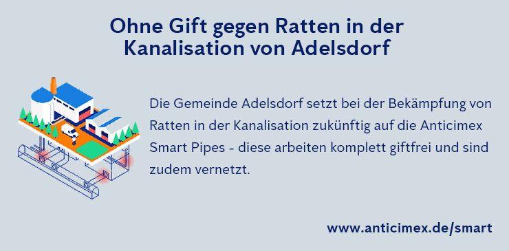 Anticimex Smart Pipe Adelsdorf