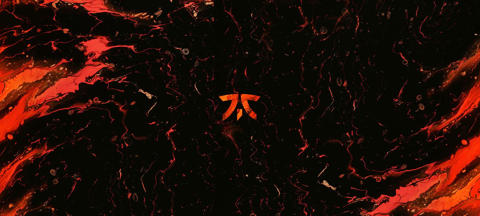 Fnatic logo on orange background