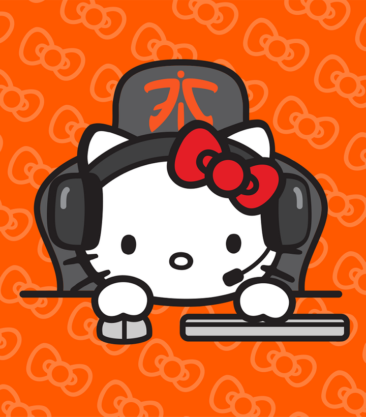 FNATIC X HELLO KITTY AVAILABLE NOW