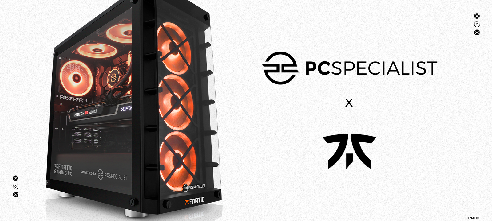 Fnatic Renews Partnership With PCSpecialist