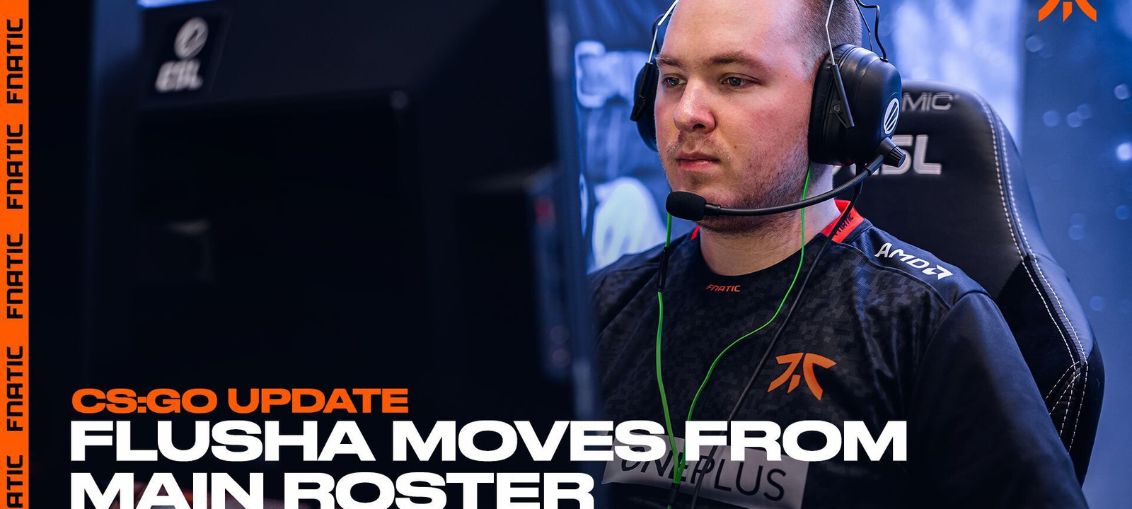 Flusha Moves To Inactive CS:GO Roster