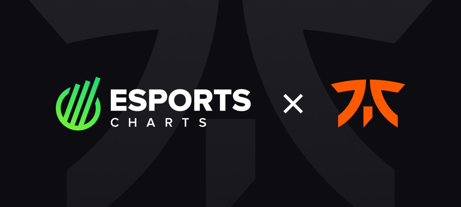 Fnatic renews partnership with Esports Charts