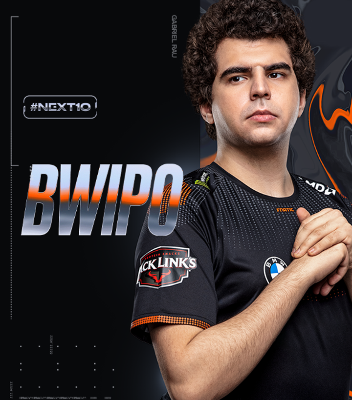 Bwipo in his Fnatic jersey