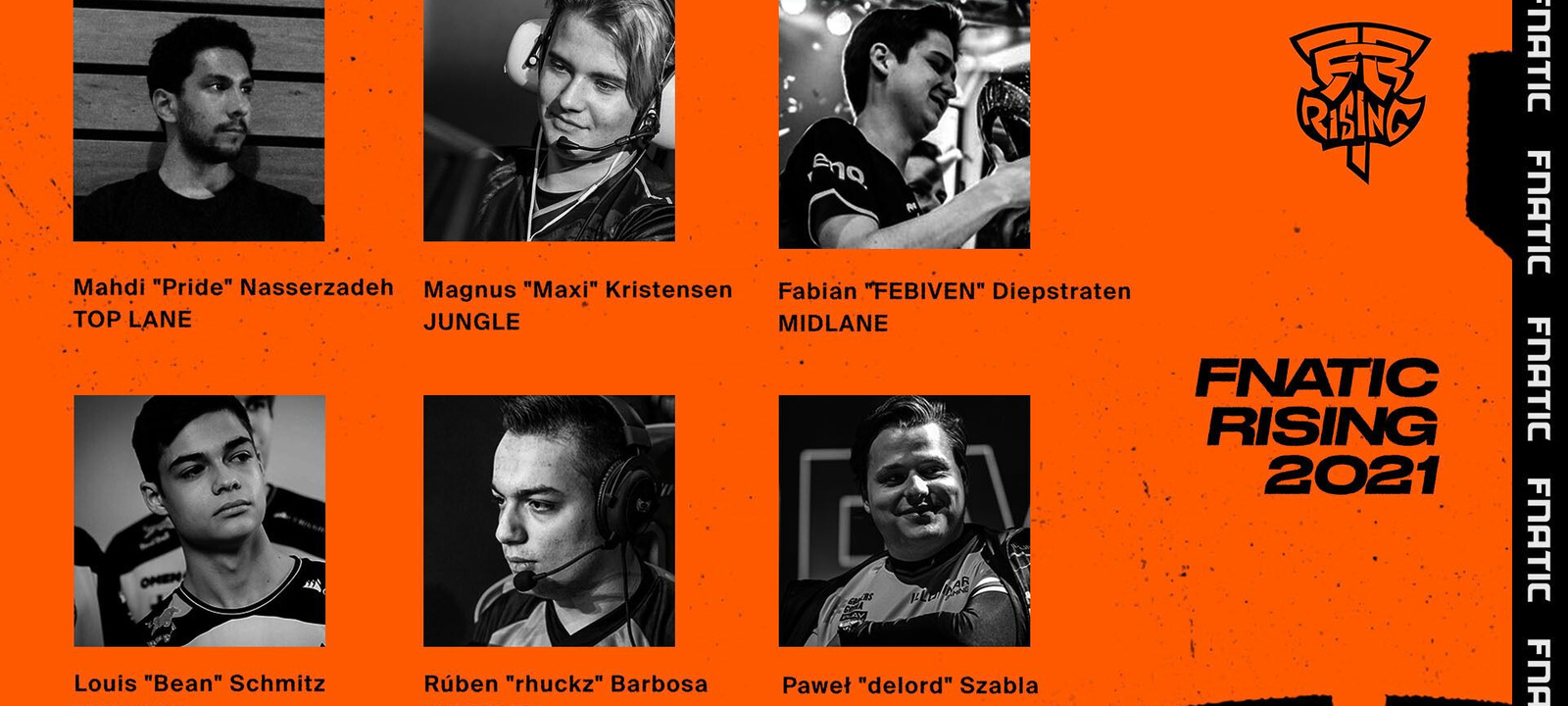 Five join Fnatic Rising for 2021