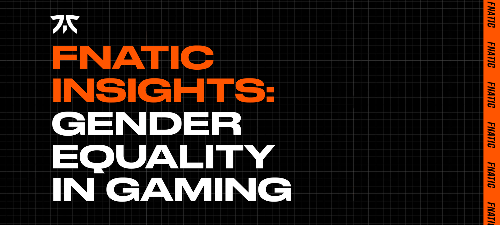 Fnatic Insights: Gender Equality in Gaming