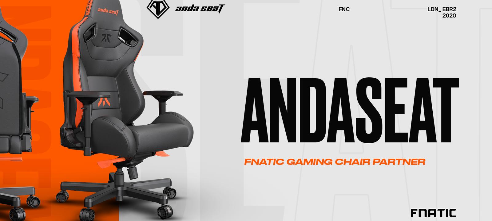 Anda seat with Fnatic branding