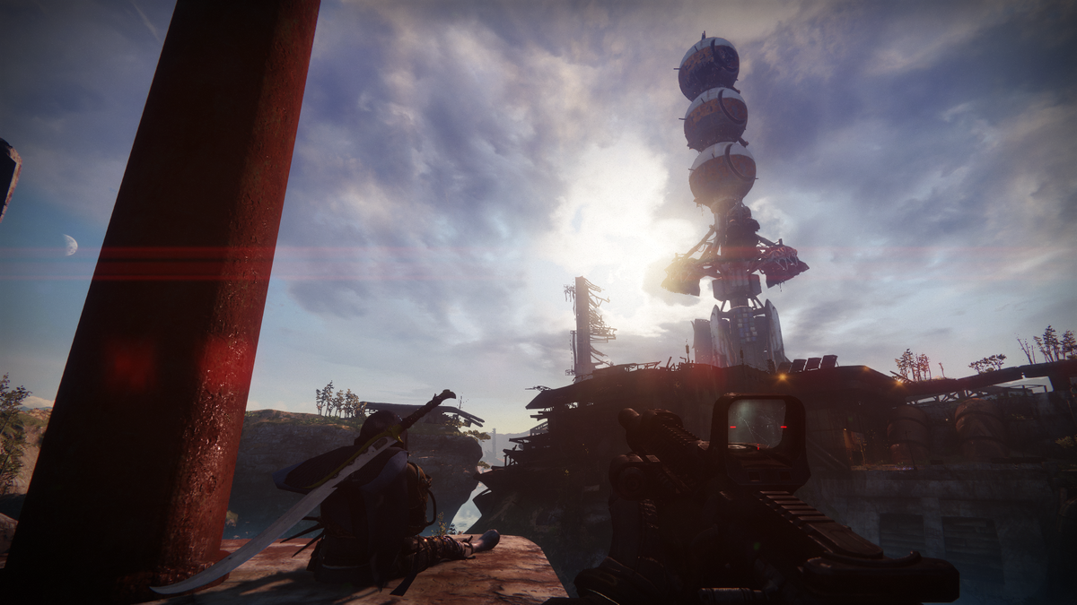 The Cosmodrome from Destiny