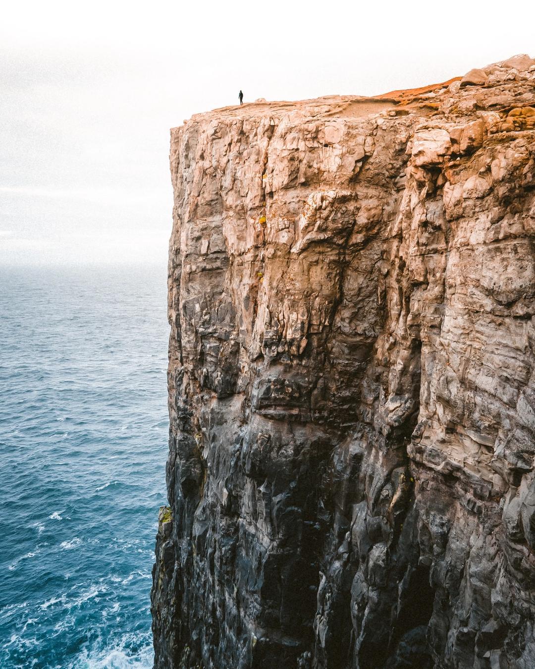 A cliffside