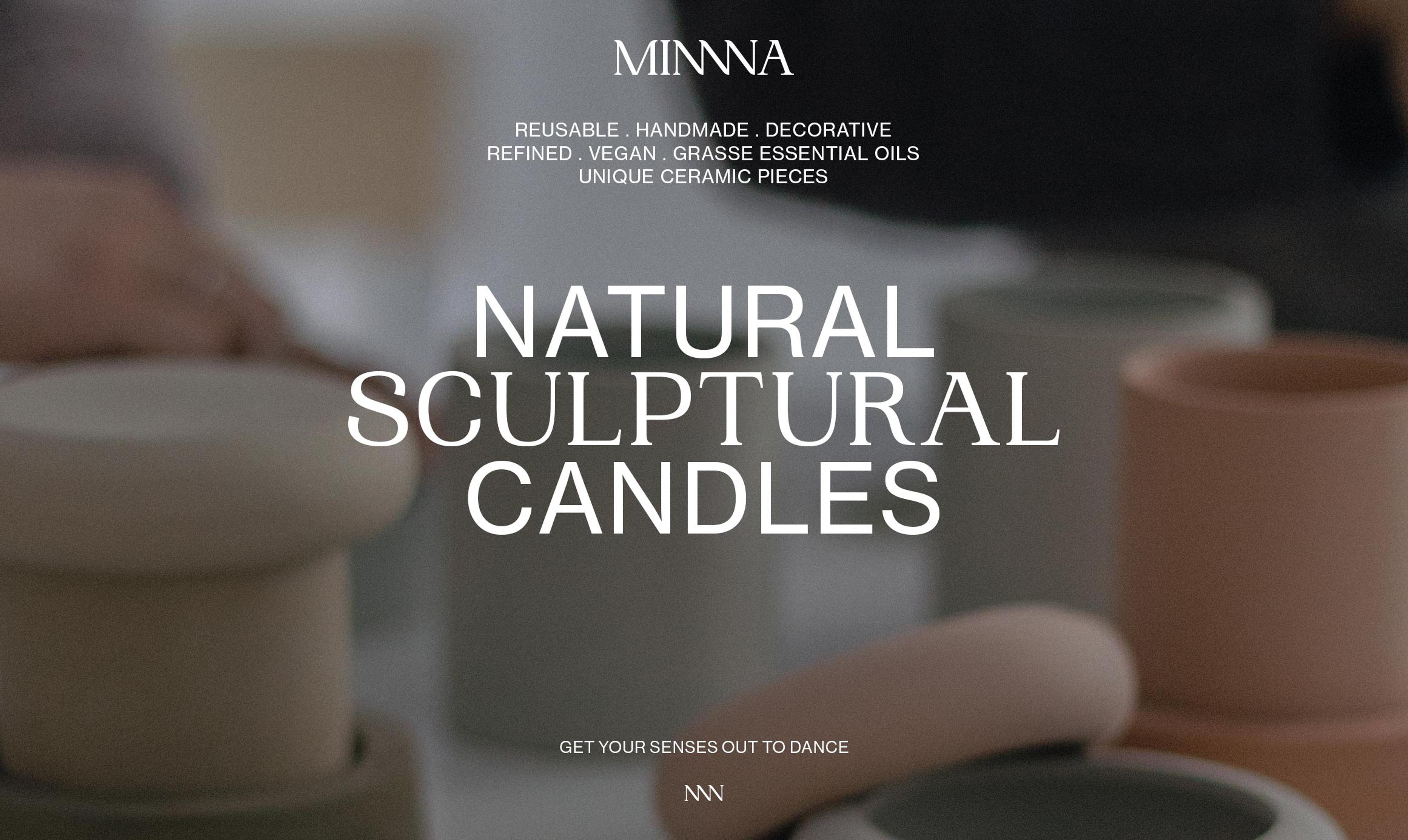 Minnna Candles by Blavet Studio