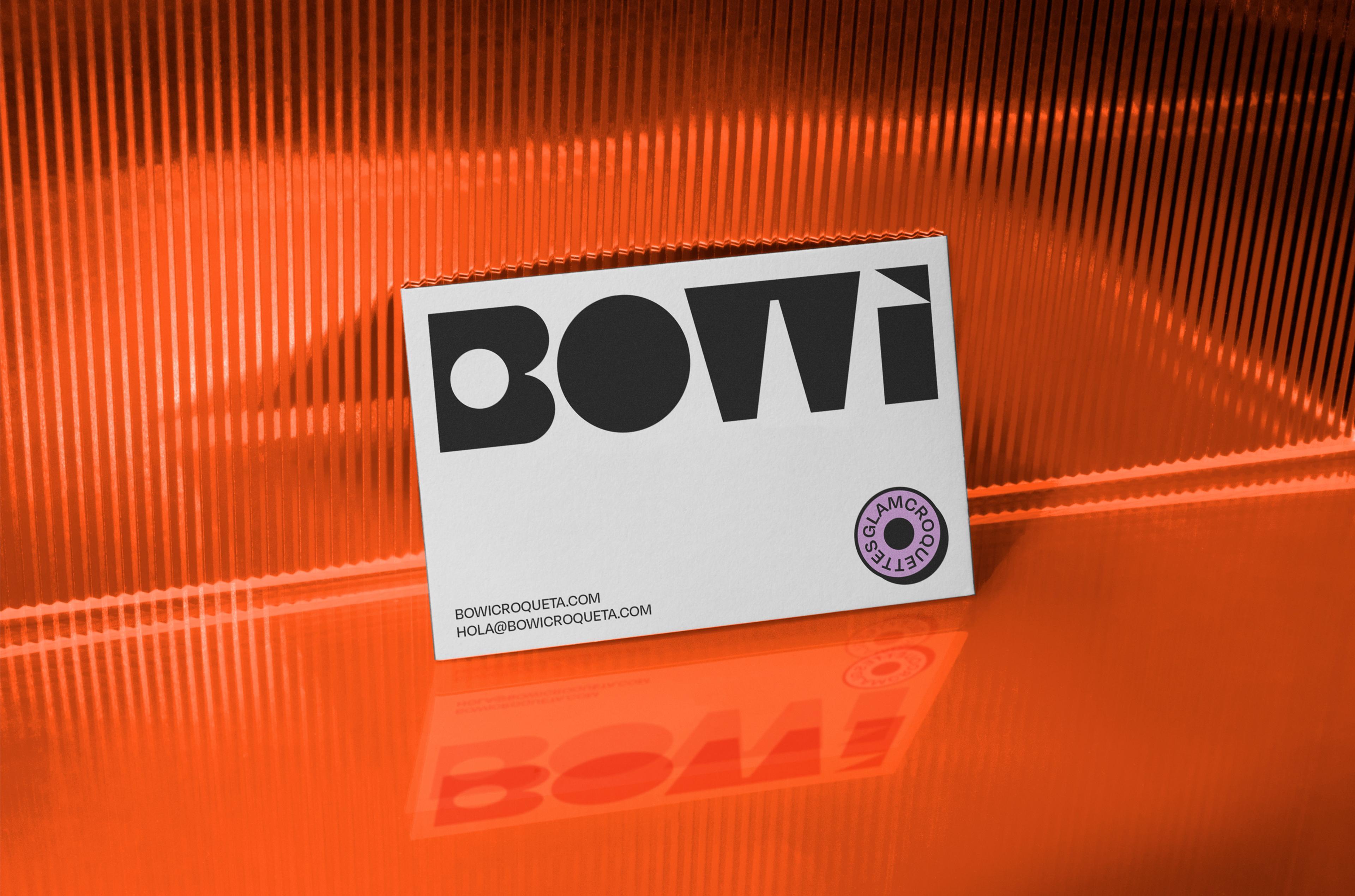 Bowi Croqueta Cards by Blavet Studio