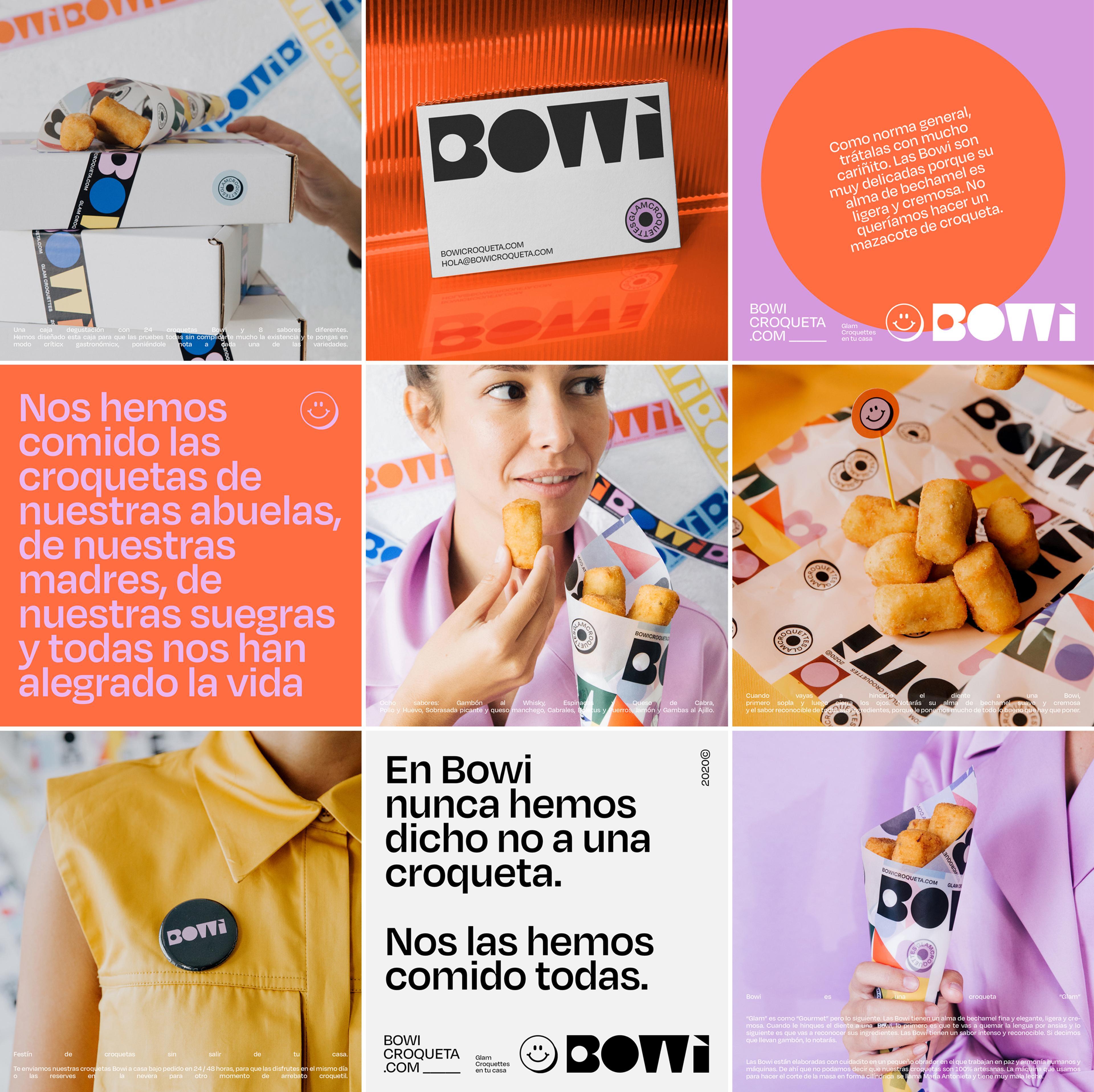 Bowi Croqueta Instagram Layout by Blavet Studio