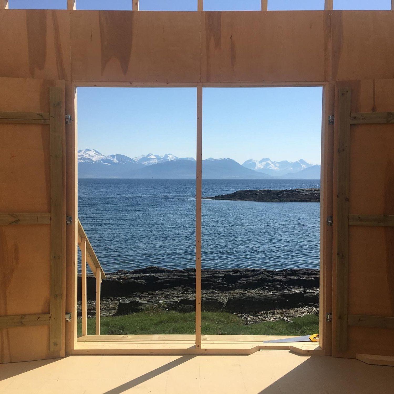 Utsikt fra Island Studio