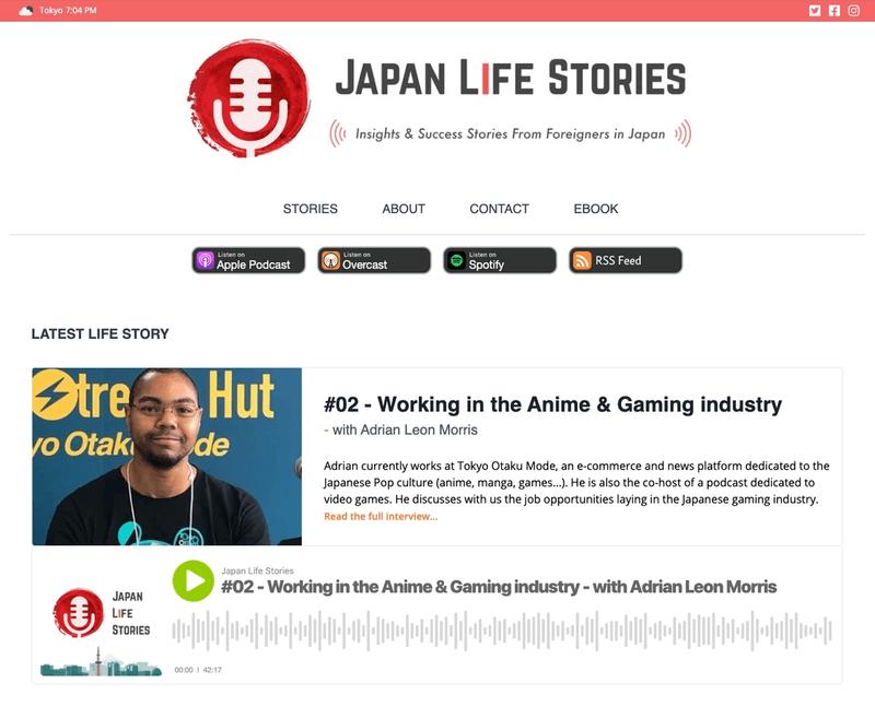 Japan Life Stories