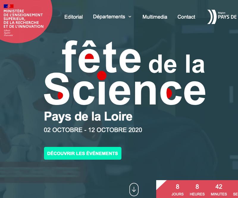 Fête de la Science Pays de la Loire
