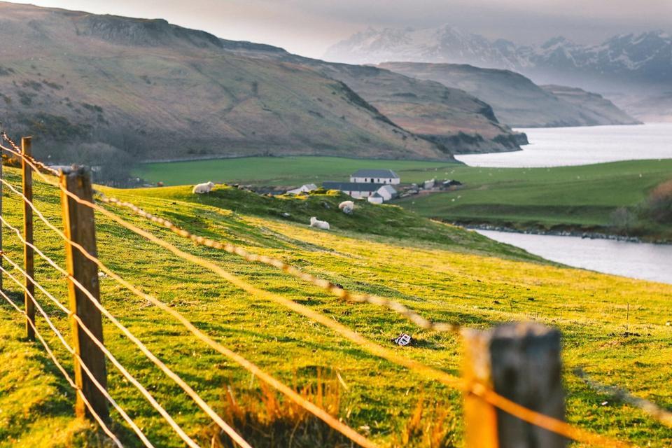 Paysage de l'Isle de Skye
