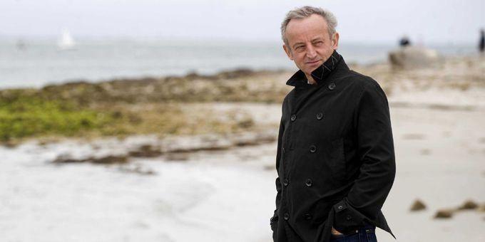 Yann Queffélec au bord de la mer