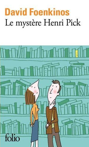 Couverture livre Le Mystère Henri Pick de D. Foenkinos