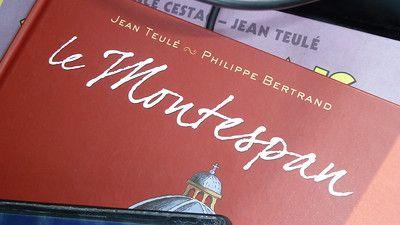 Le Montespan, bande dessinée de J. Teulé et P. Bertrand