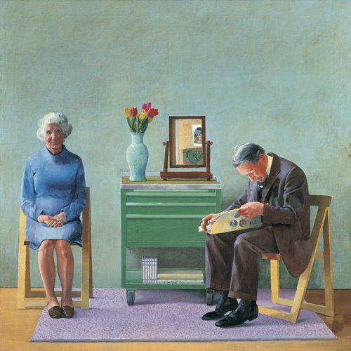 Incipit Vie de David Hockney Catherine Cusset