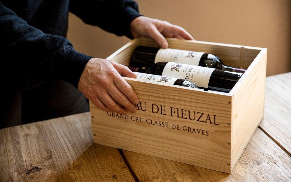 Chateau de Fieuzal wine case