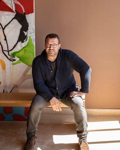 Stephen Carrier portrait