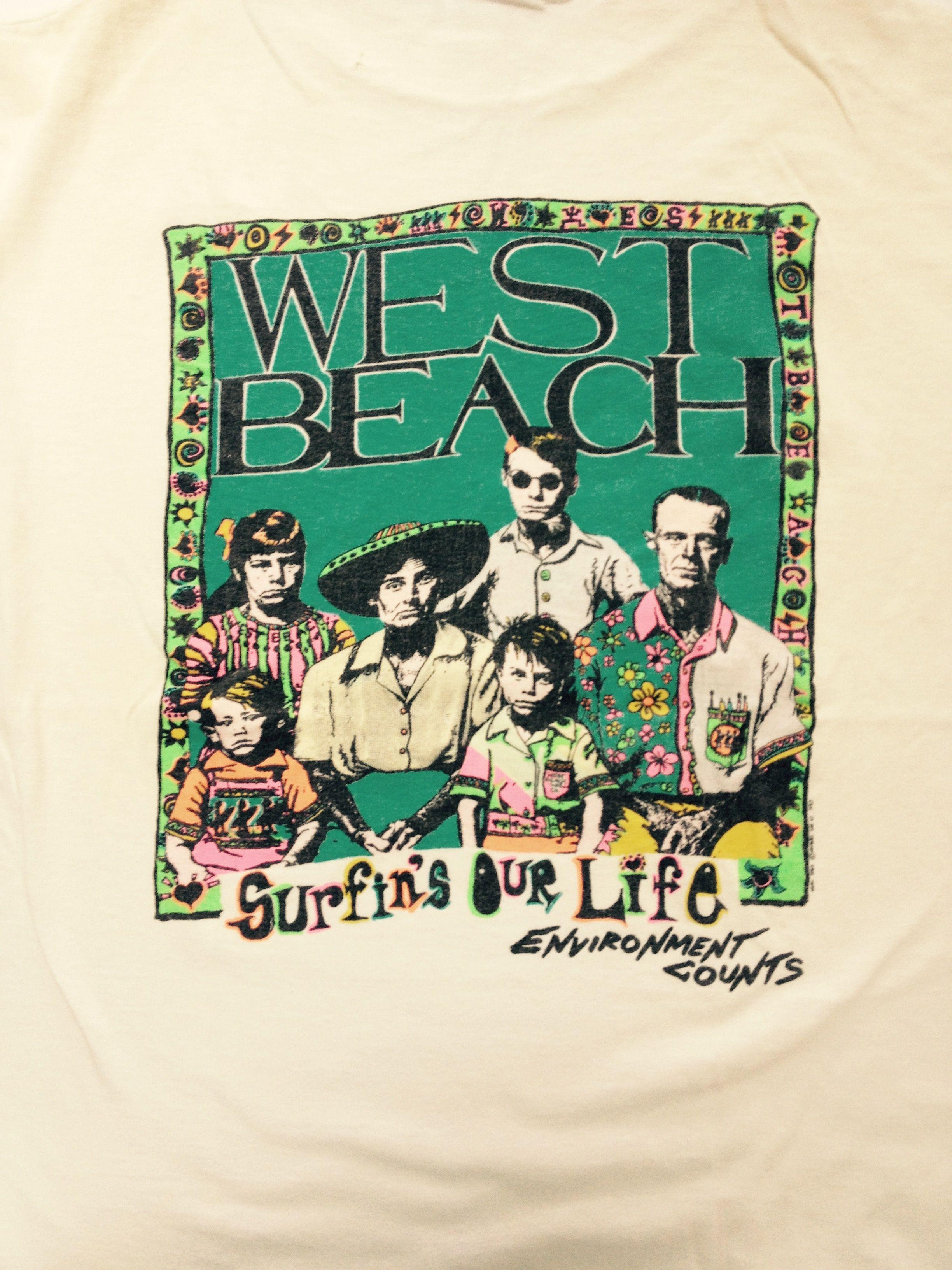 Westbeach graphic, 1988