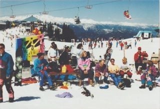 First Westbeach Snowboard Classic at Whistler, 1995