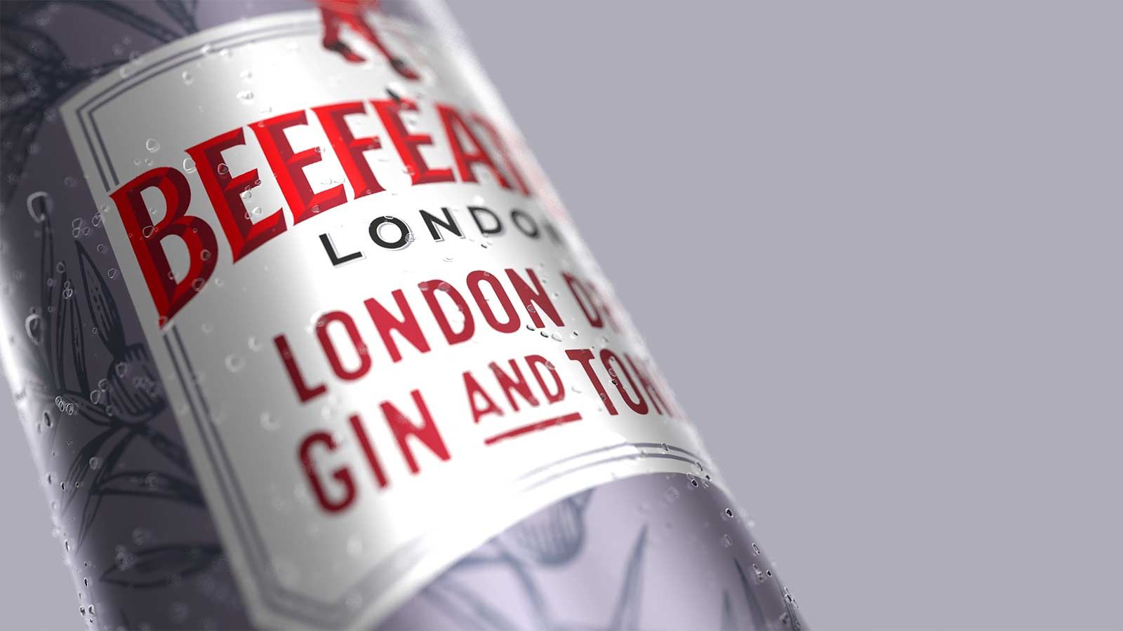 Beefeater can animation frame
