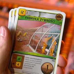 """Karta """"Fabryka żywności"""", która daje efekt natychmiastowy. (Terraformacja Marsa)"""