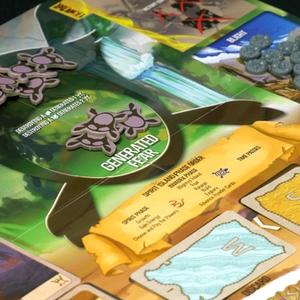 Elementy gry. (Spirit Island)