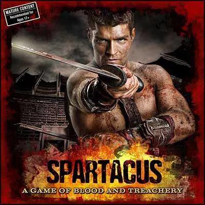 Spartakus: Krew i Zdrada (Okładka gry)