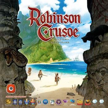 Robinson Crusoe: Przygoda na przeklętej wyspie (Okładka gry)