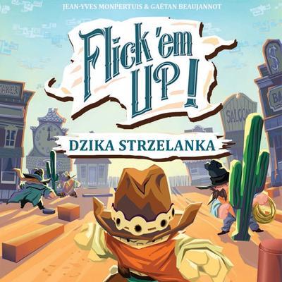 Flick 'em Up! (Okładka gry)