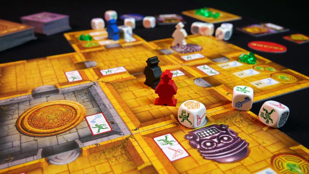 Elementy gry Ucieczka: Świątynia Zagłady